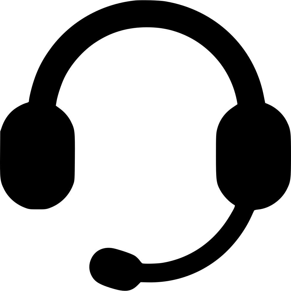 Call svg png icon. Headphones clipart writing center
