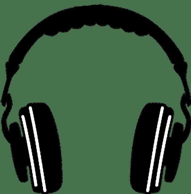 headphones clipart listening post