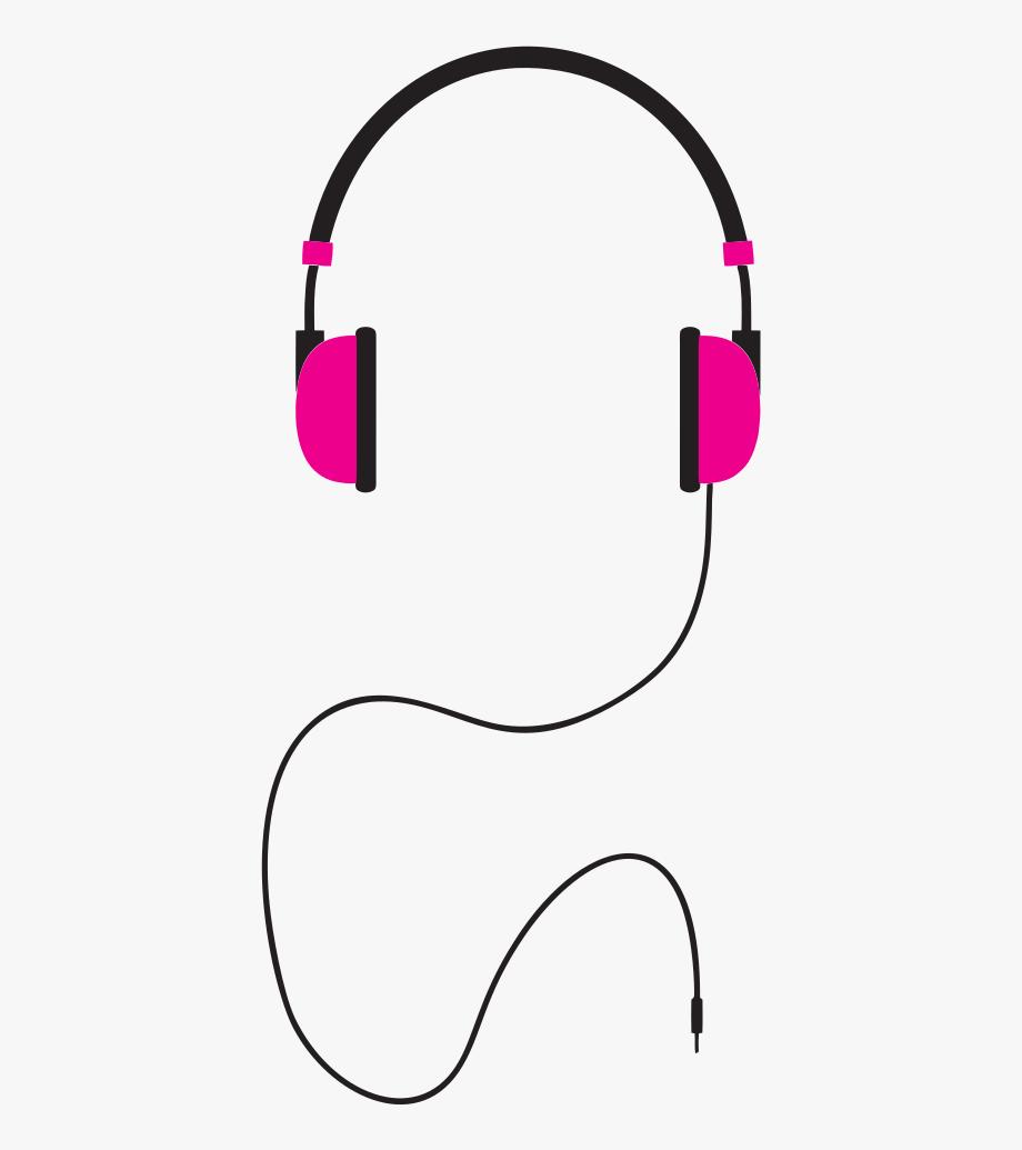 Headphones illustration free . Earbuds clipart headset