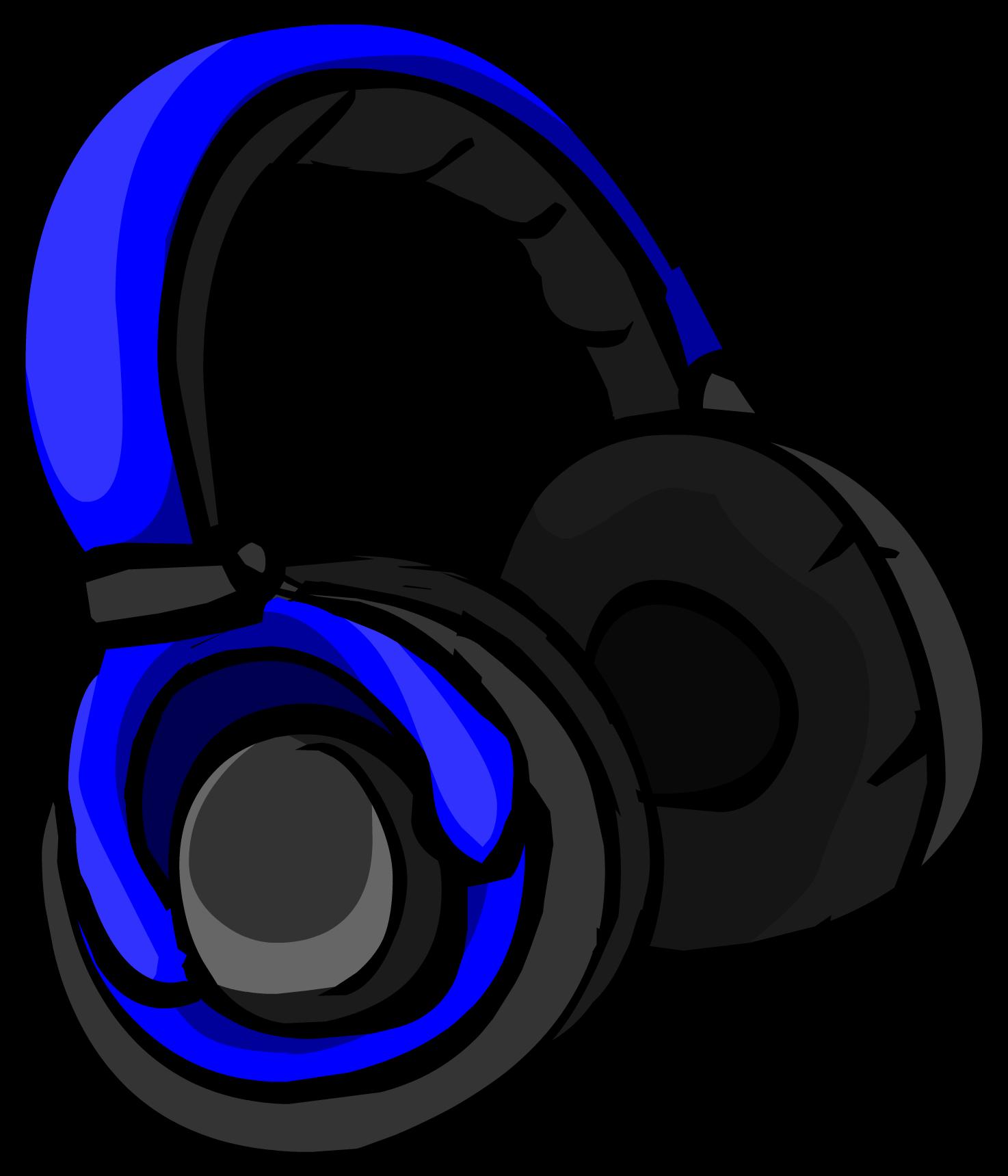 Headphones clipart cool headphone. Image blueheadphones png club