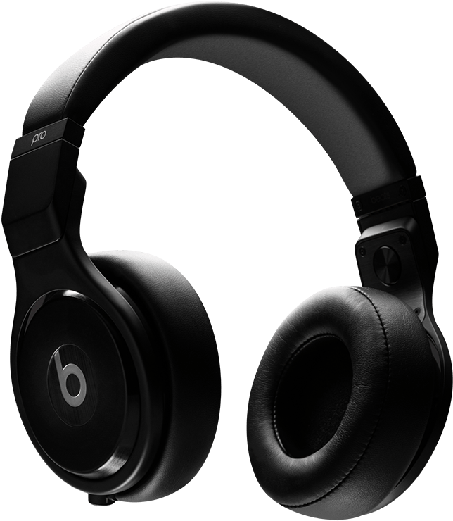Headphones clipart wireless headphone. Beats pro npng full