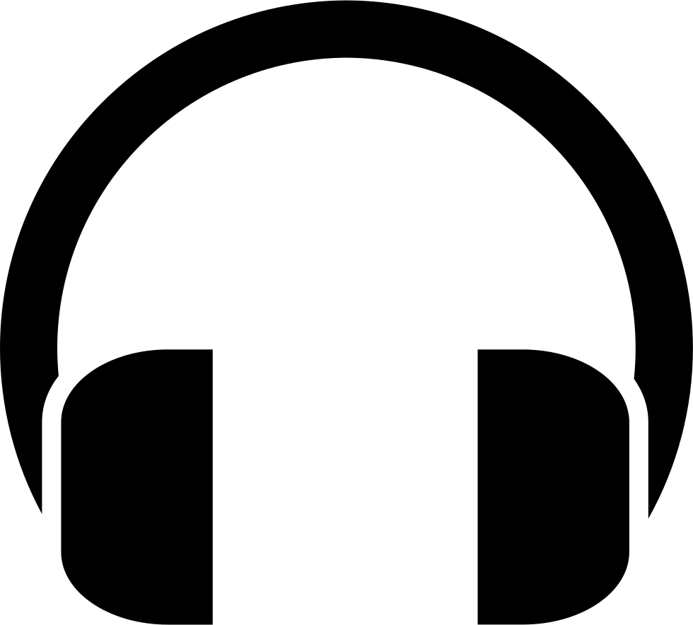 Svg free download onlinewebfonts. Headphones icon png