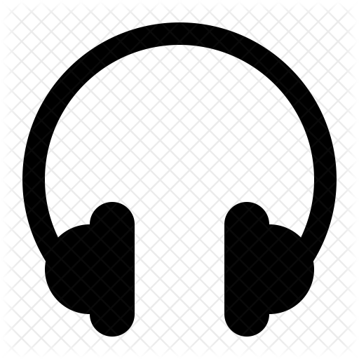 Headphone music multimedia icons. Headphones icon png