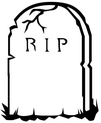 . Headstone clipart