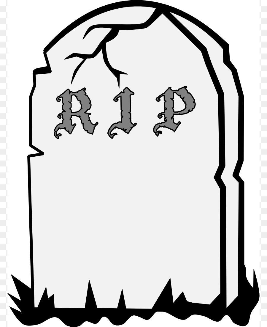 Grave clipart. Headstone cemetery epitaph clip