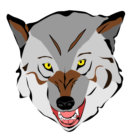 Wolf clipart badass. Free animated cliparts download