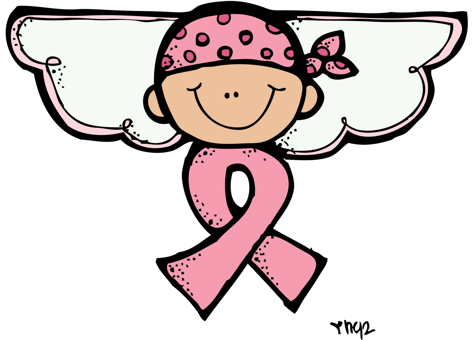 Cancer angels thursday march. Pajamas clipart melonheadz