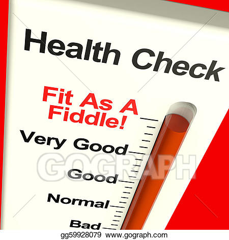 Health clipart condition. Drawing check very fit