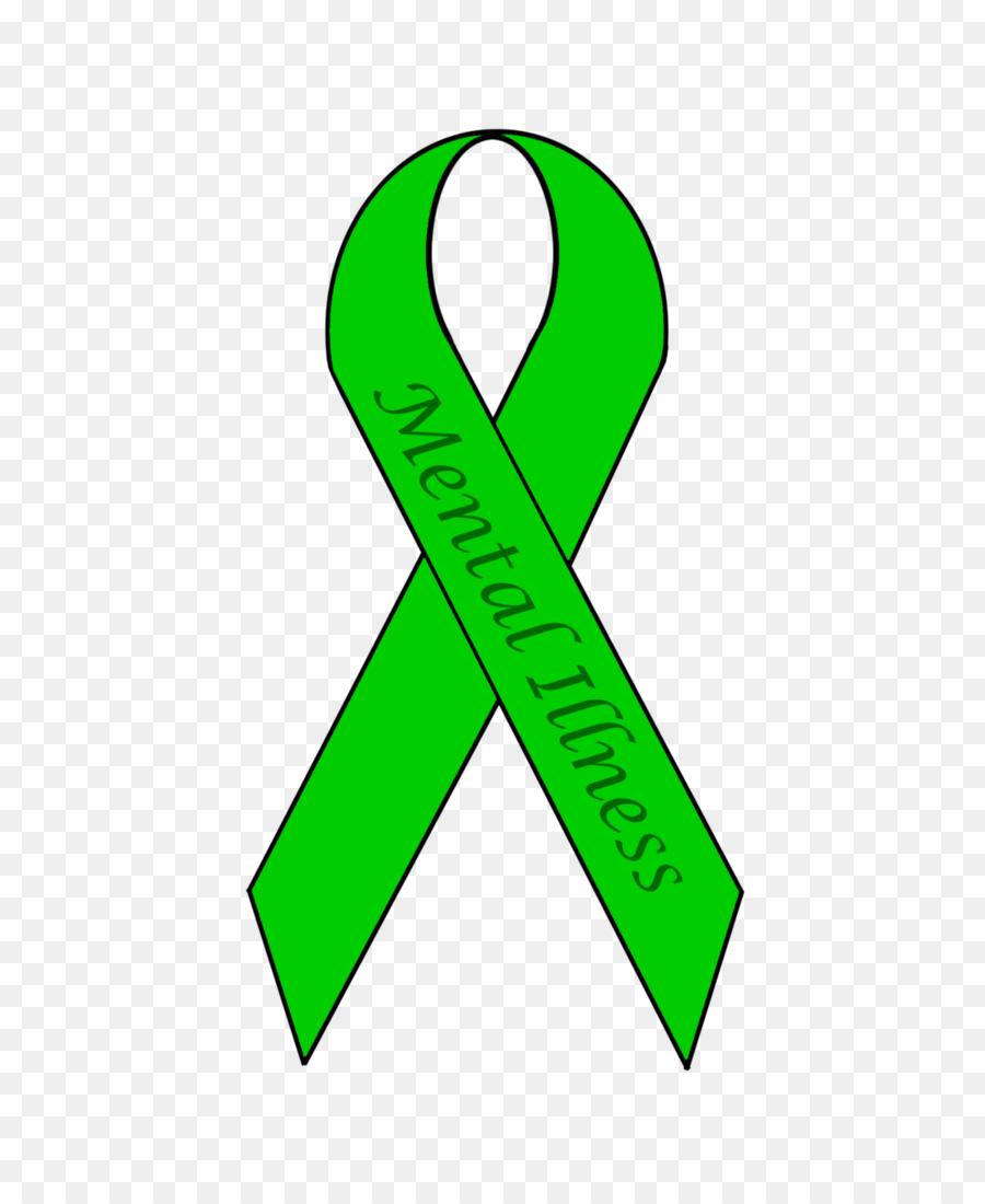 Mental ribbon green . Health clipart health awareness