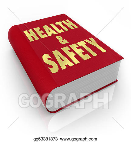 Health clipart health book. Stock illustration of and