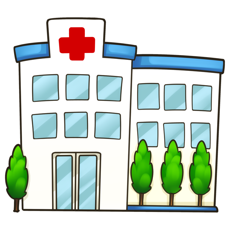 Health center building clip. Hospital clipart public hospital