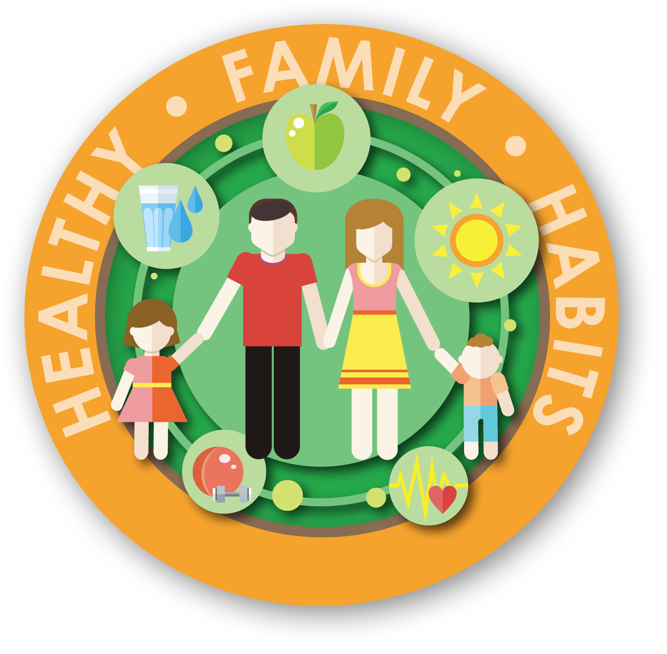 Health clipart healthy family.  collection of high