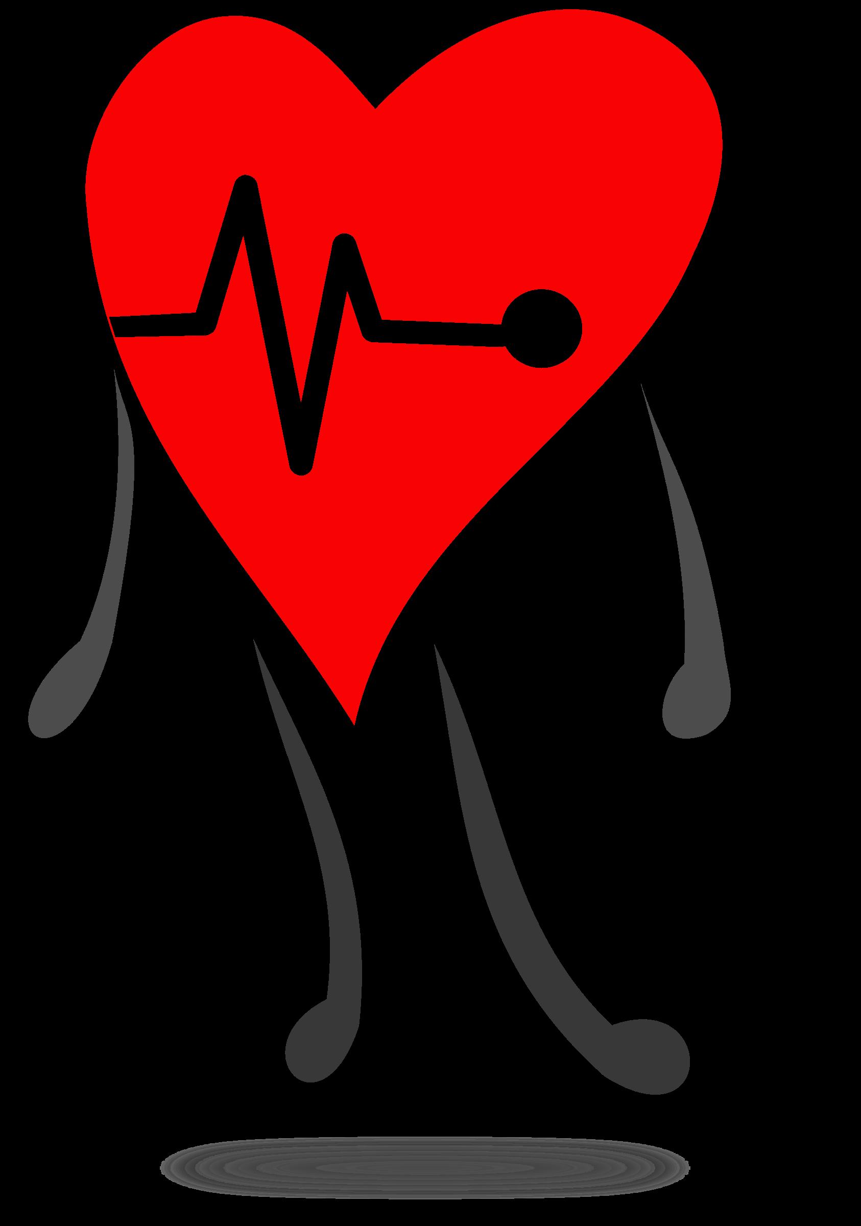 Heartbeat clipart healthy. Signal hearth corazon se