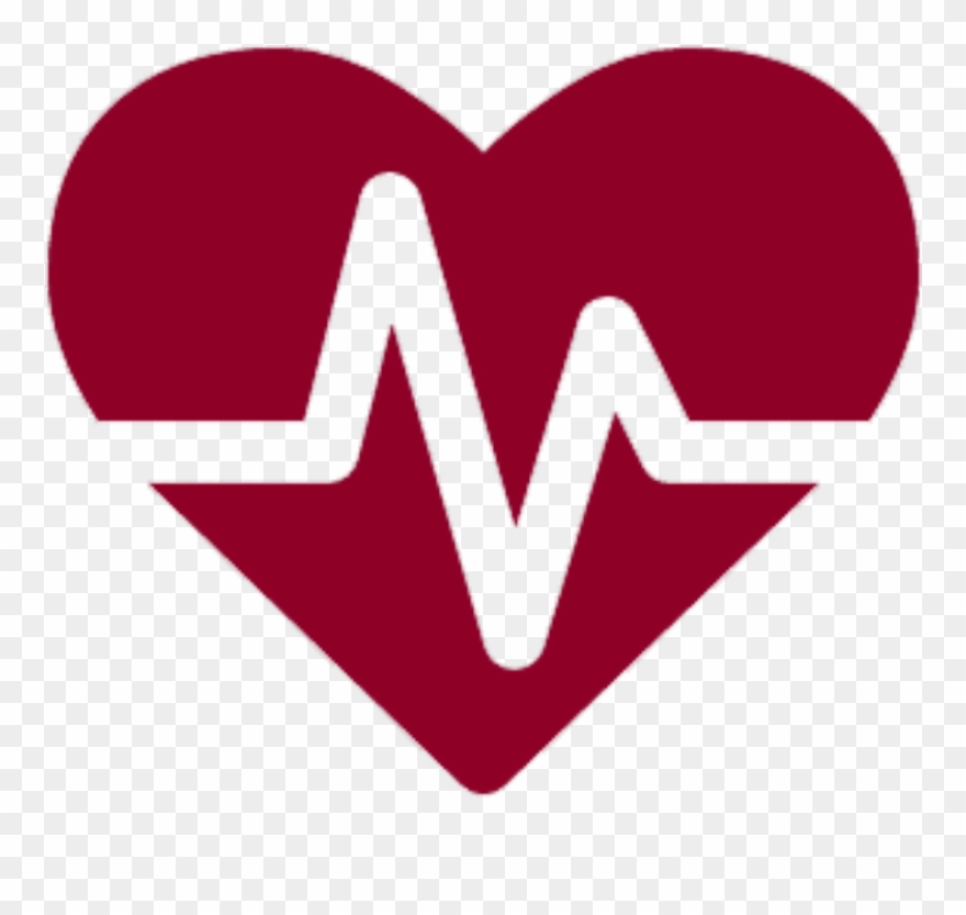 Heartbeat clipart health symbol. Icons icon transparent background