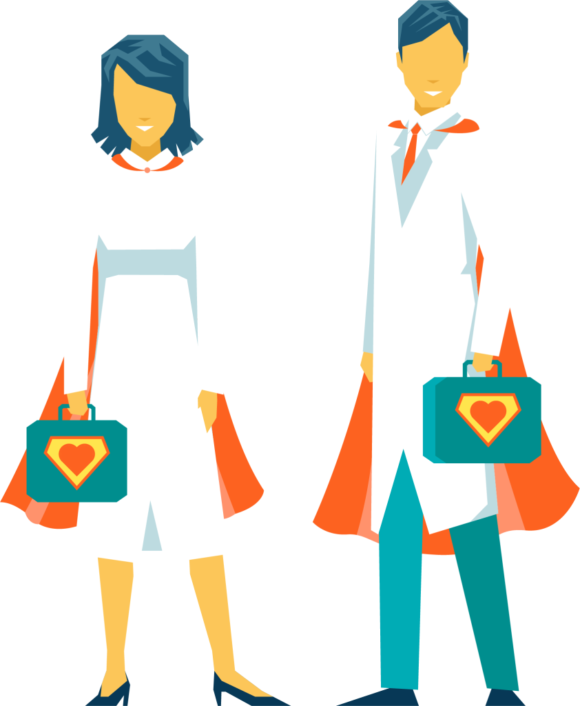 patient clipart personal support worker