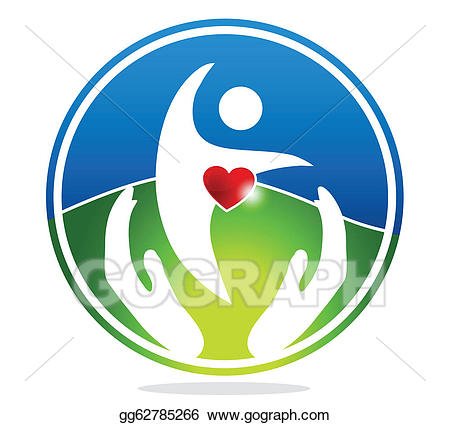 Vector stock healthy and. Health clipart human health