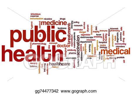 Health clipart word. Stock illustrations public cloud