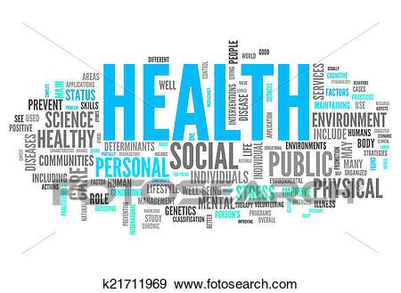 health clipart word