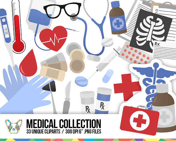 Healthcare clipart. Medical collection doctor health