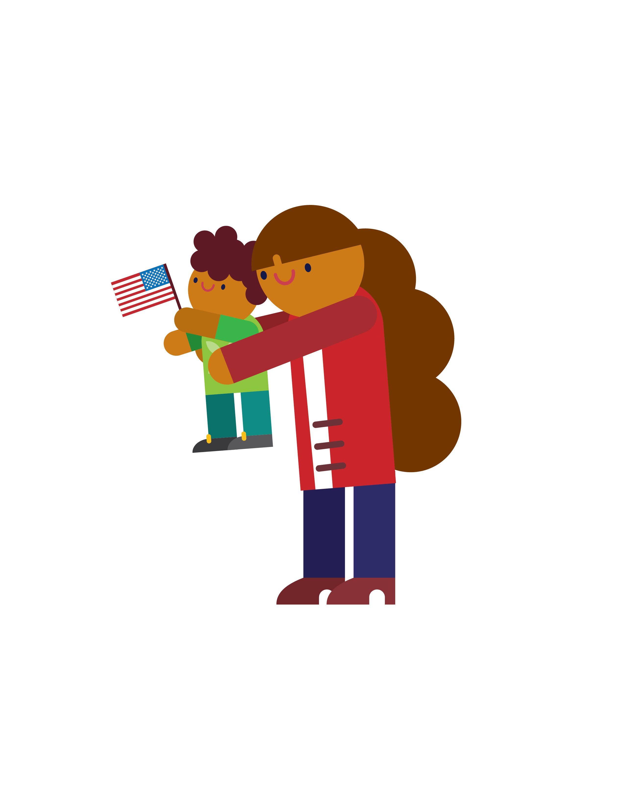 Immigration clipart illegal immigration, Immigration ...