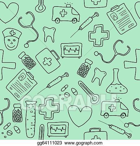 Healthcare clipart medicine background. Eps illustration vector