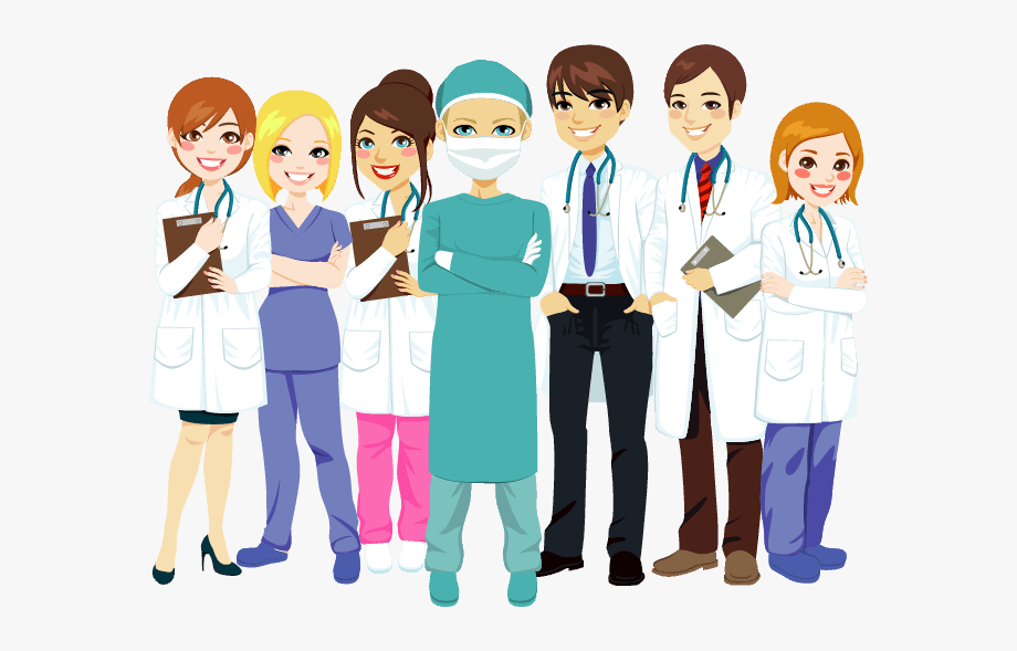 Healthcare doctors and nurses. Teamwork clipart nursing teamwork