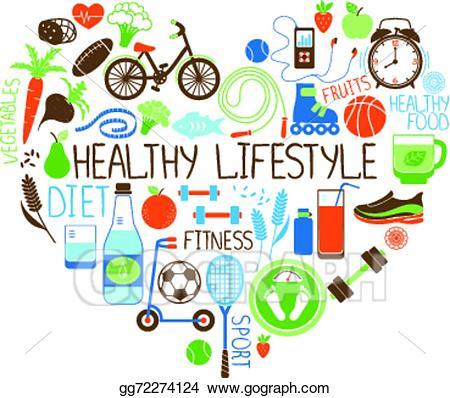 Living portal . Healthy clipart active