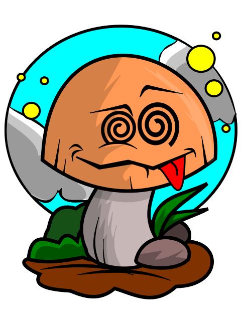 Mushrooms clipart cartoon. Image clipartix