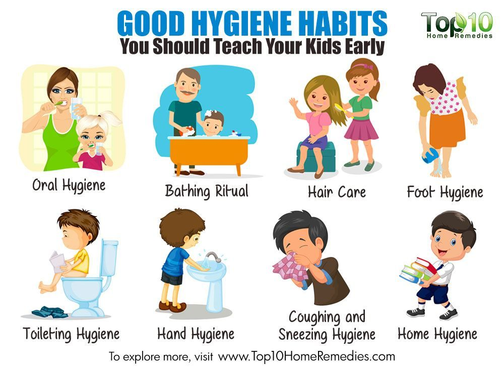 Healthy clipart health hygiene.  good habits you