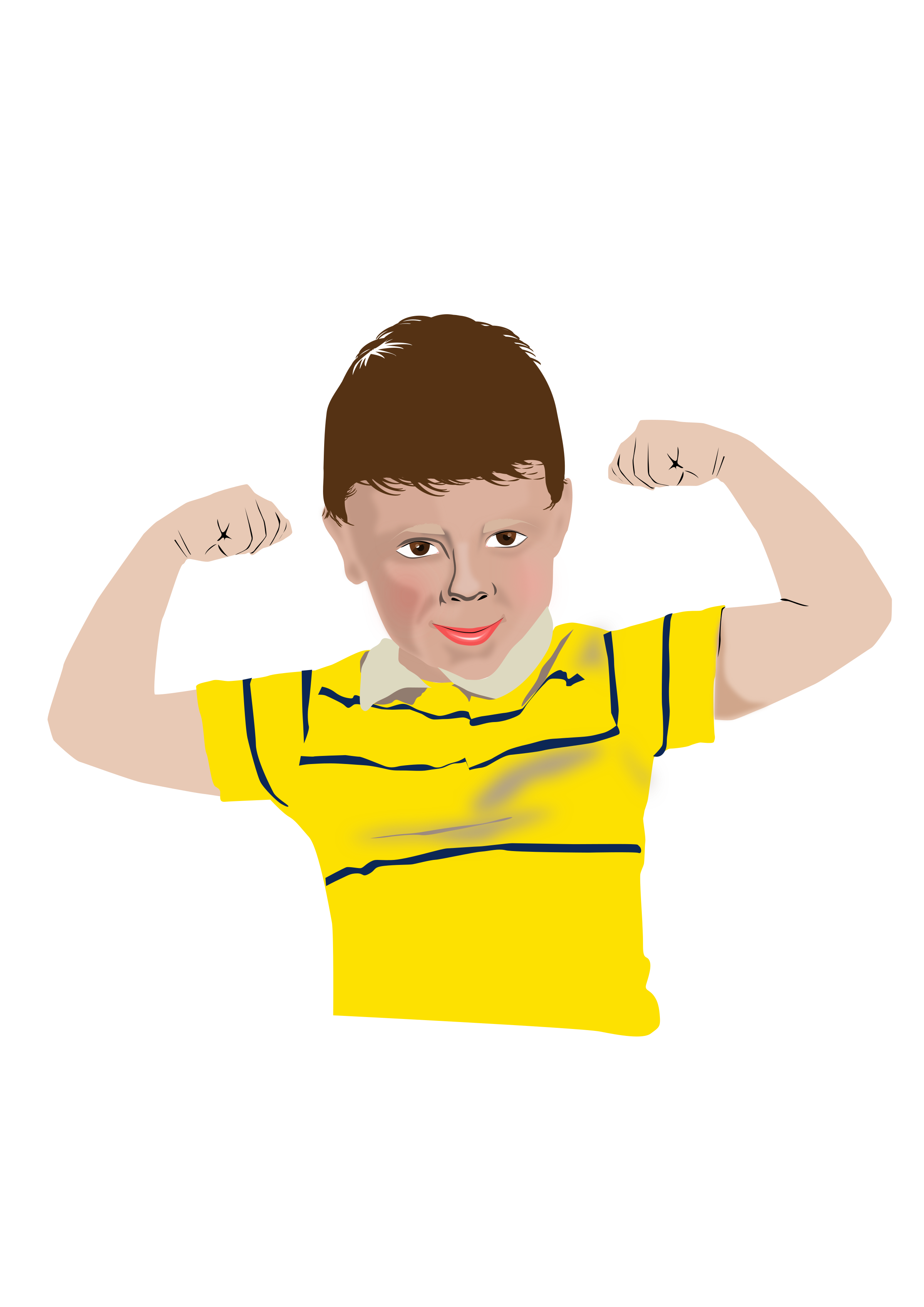 Image tracing big png. Healthy clipart healthy child