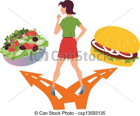 Healthy clipart healthy choice. Food or fast panda