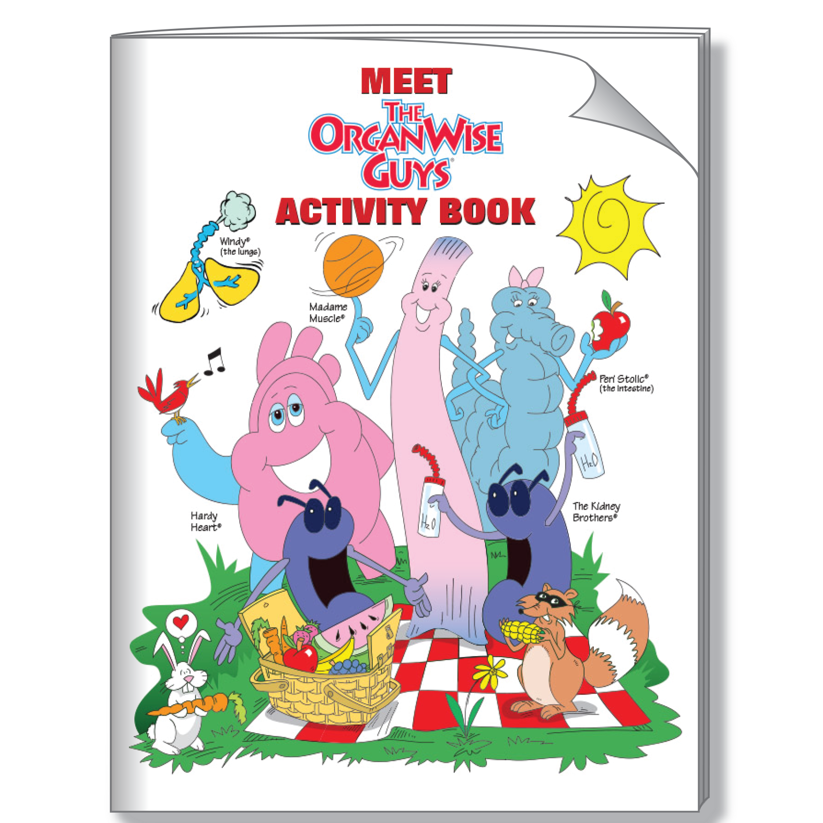 Meet the organwise guys. Windy clipart activity
