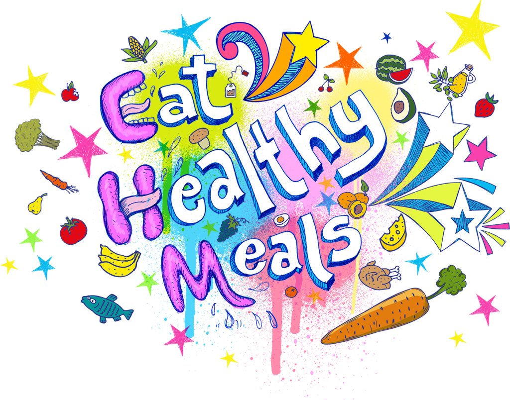 Stress less tips eat. Healthy clipart healthy meal