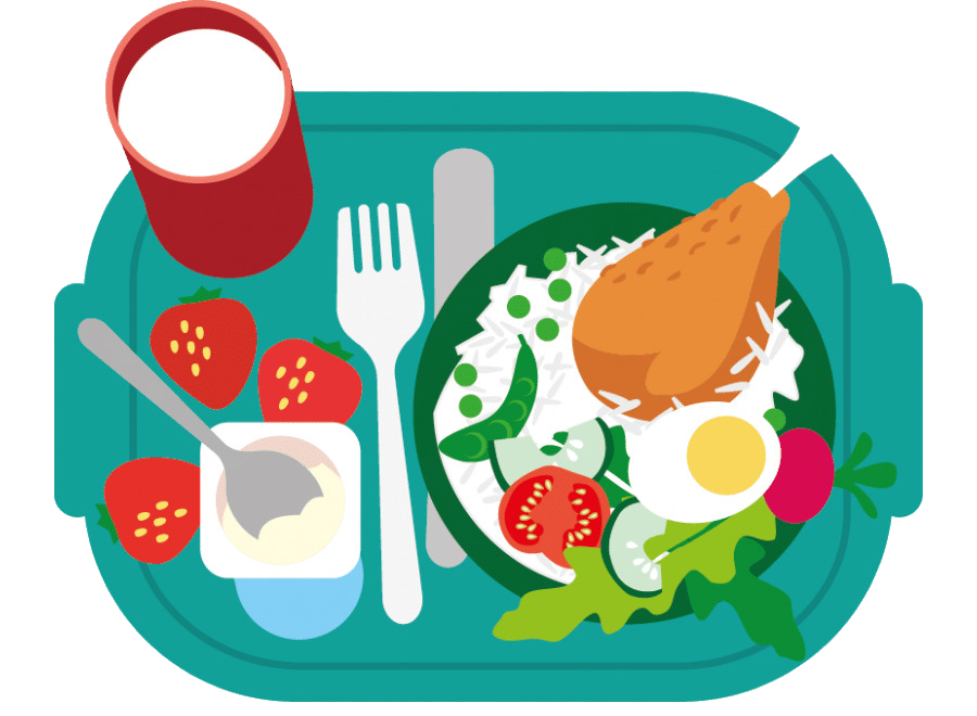 Healthy clipart healthy school. Food junk breakfast meal