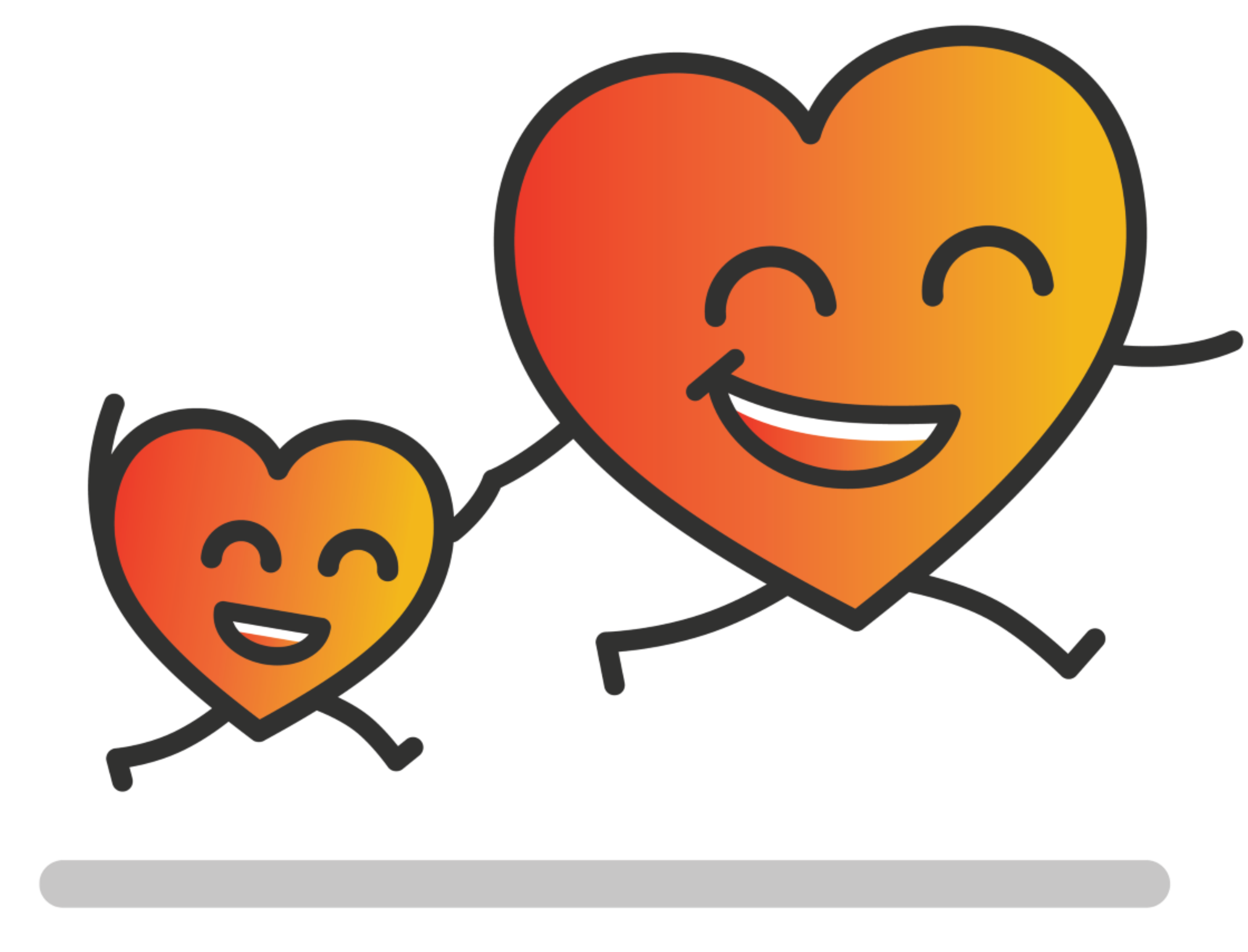 Upcoming summer events blog. Healthy clipart heart walk