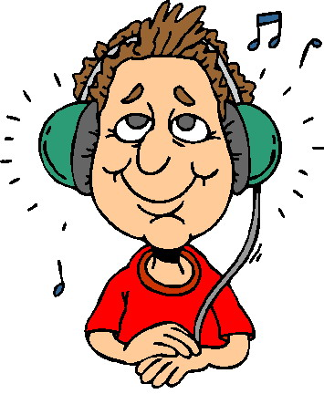 Listen clipart. Clip art to hear