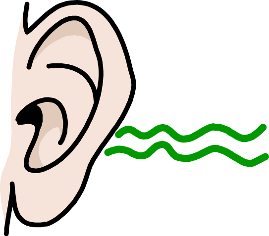 Hear station. Ears clipart listening