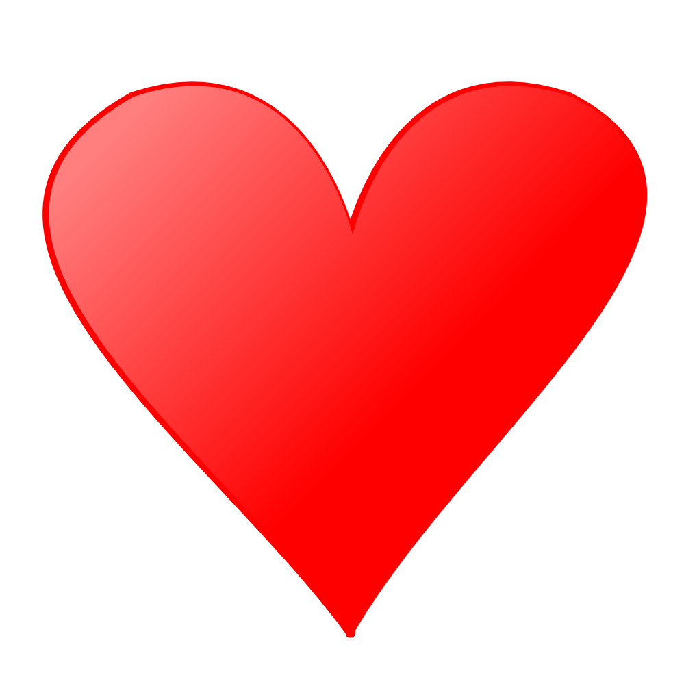 Red heart image purepng. Love hearts png