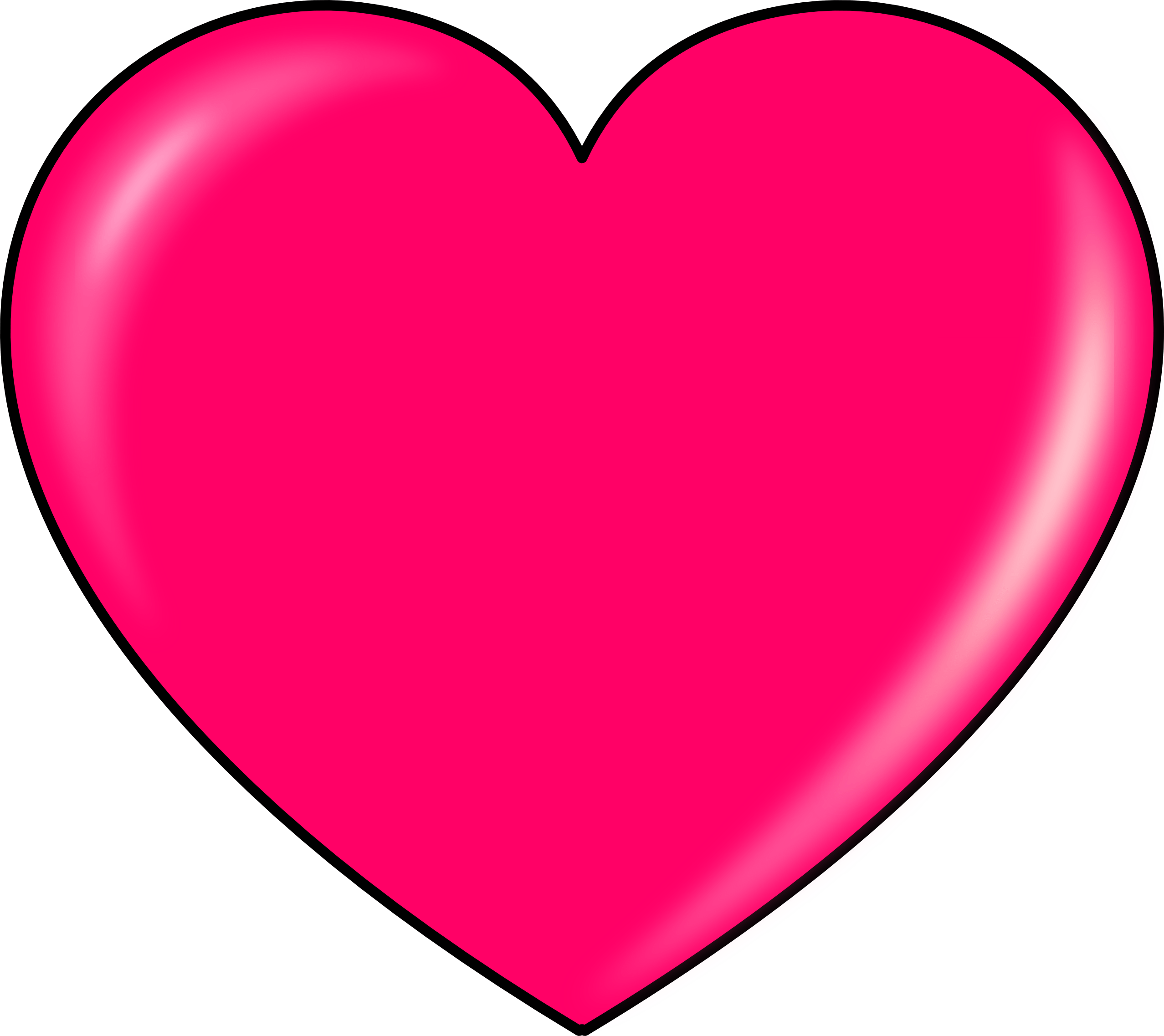 Clipart heart pink. Transparent png stickpng download