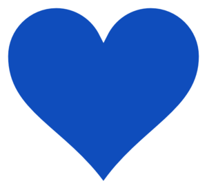 Heart clipart. Blue panda free images