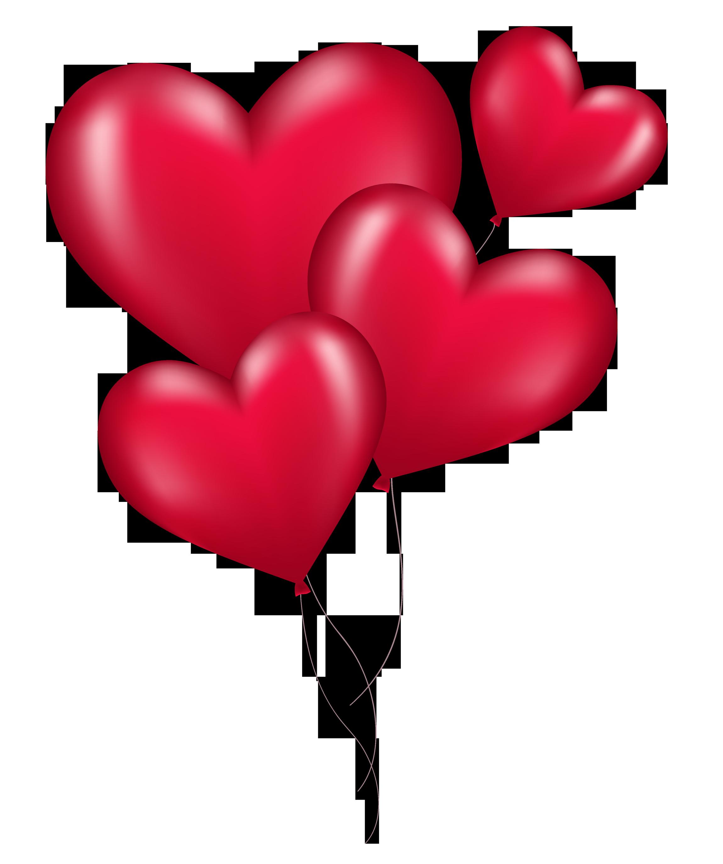 Heart clipart bouquet. Balloons png image pngpix