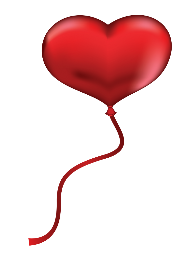 Heart clipart brush stroke. Balloons png high quality