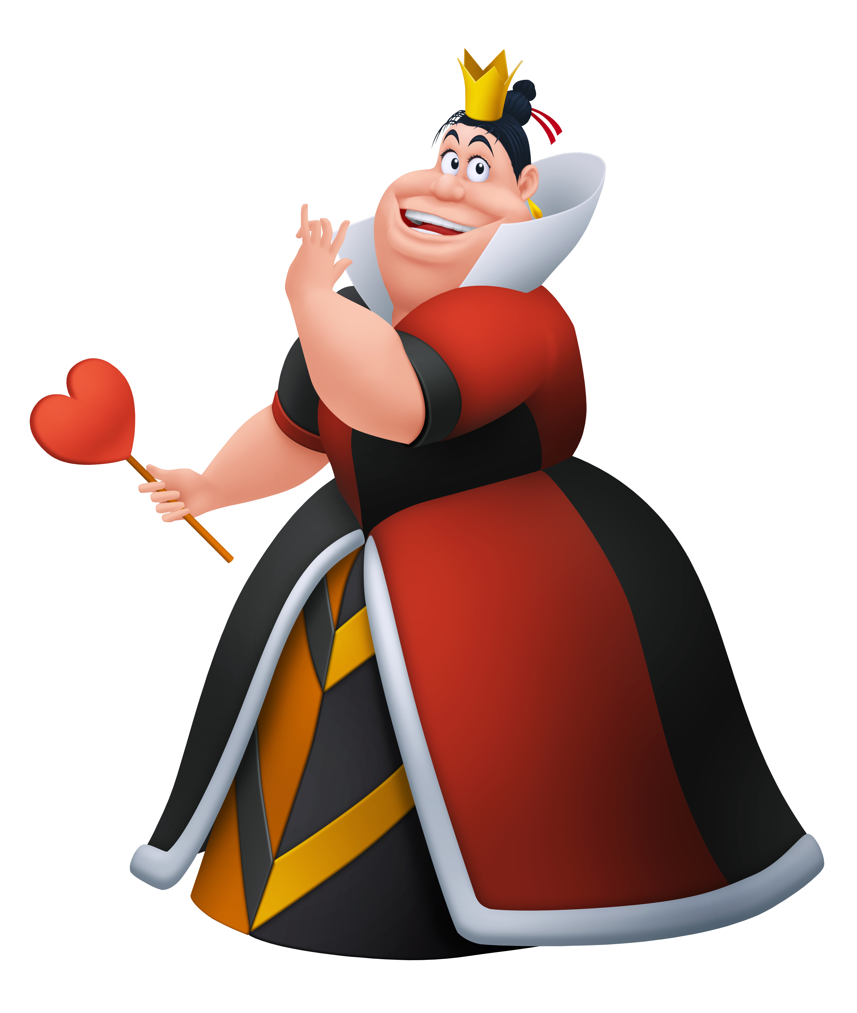 Queen of kingdom insider. Hearts clipart character