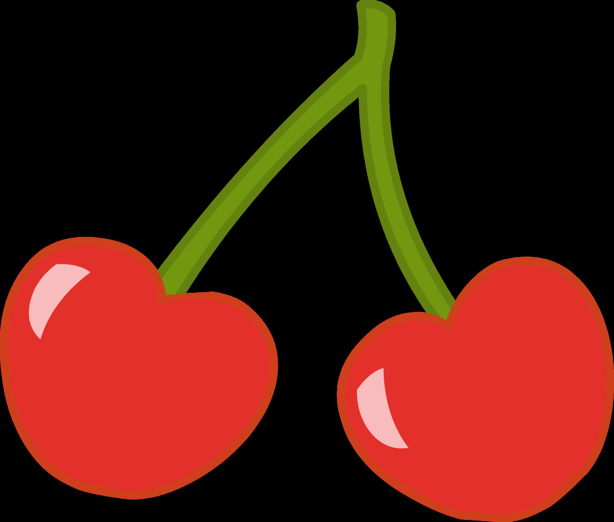 Heart clipart cherry. Image happystudio png my