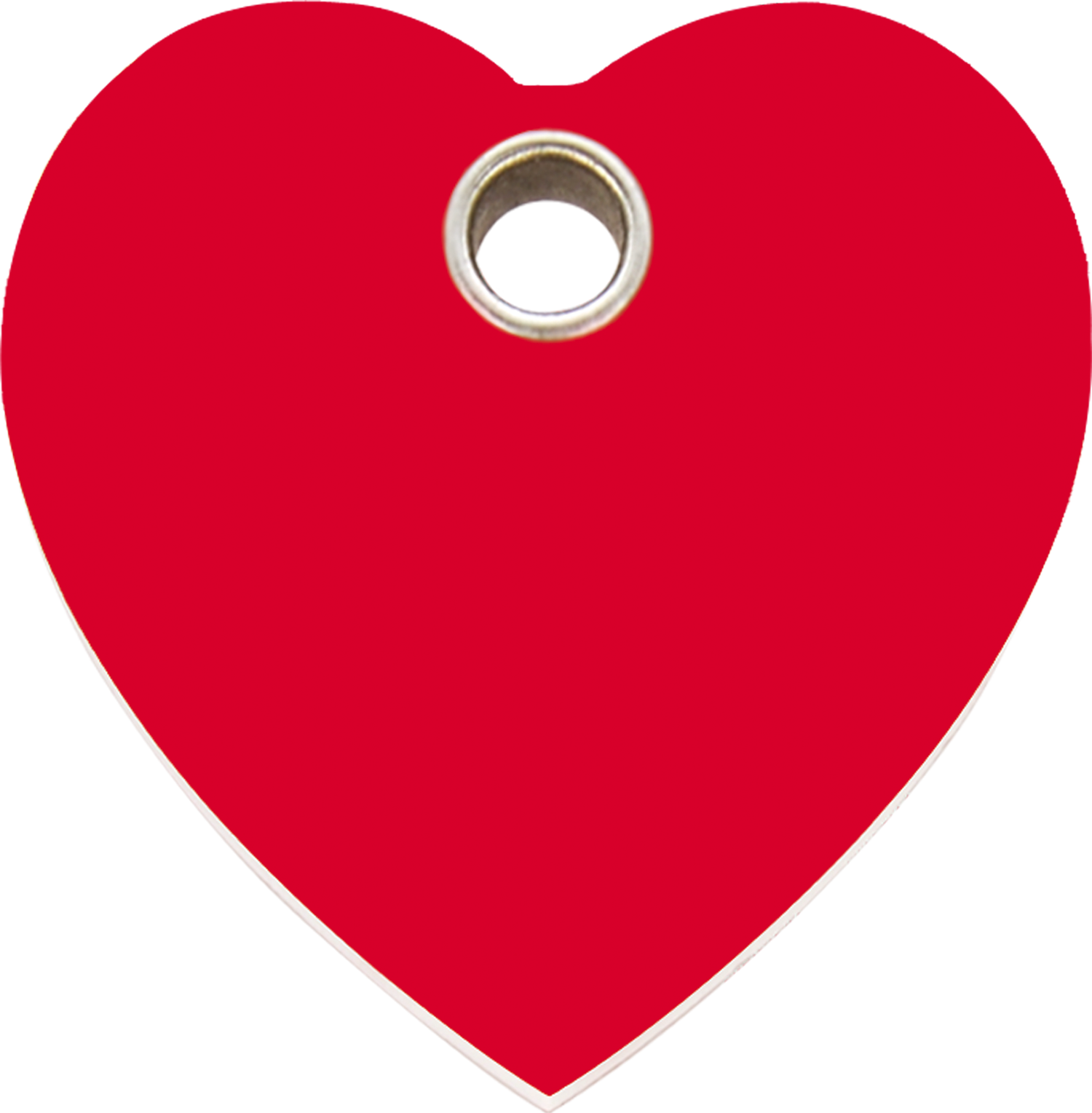 Heart clipart donut. Red dingo plastic tag