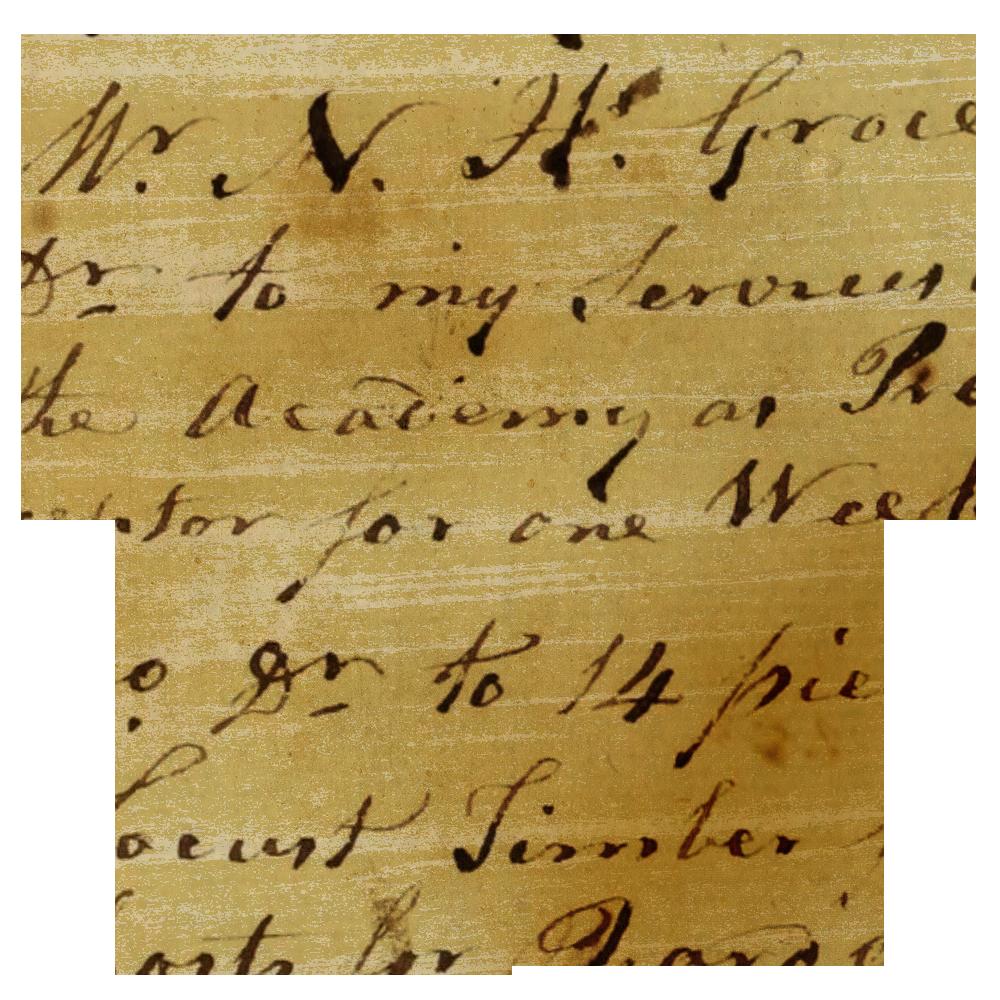 Heart clipart handwritten. Vintage ledger paper hearts