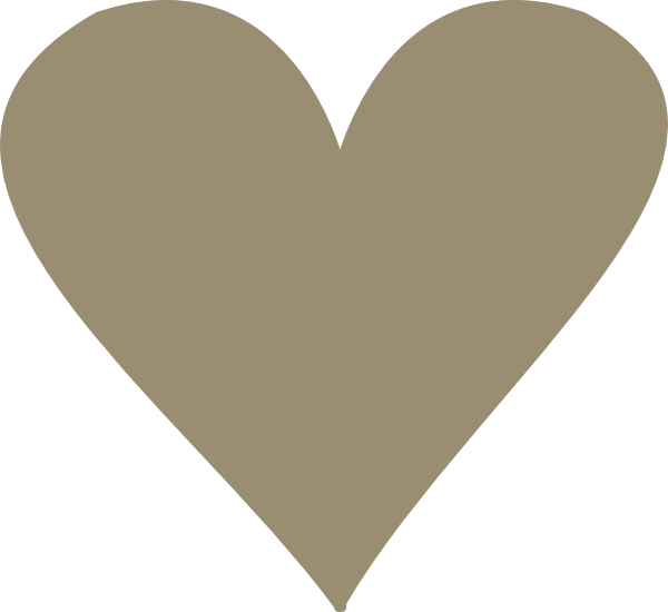 Tan heart clip art. Hearts clipart pulse