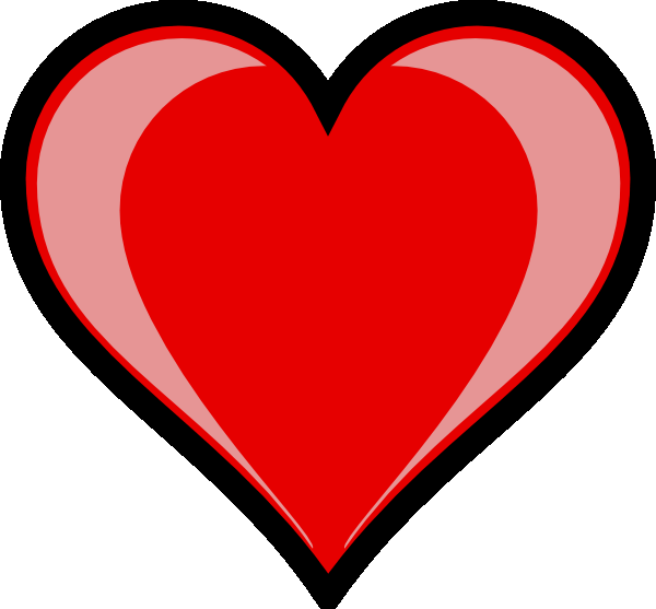 Heart clipart sign. Image