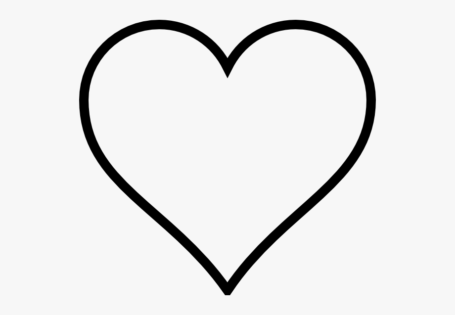 Hearts clipart silhouette. Heart silhouettes free cliparts