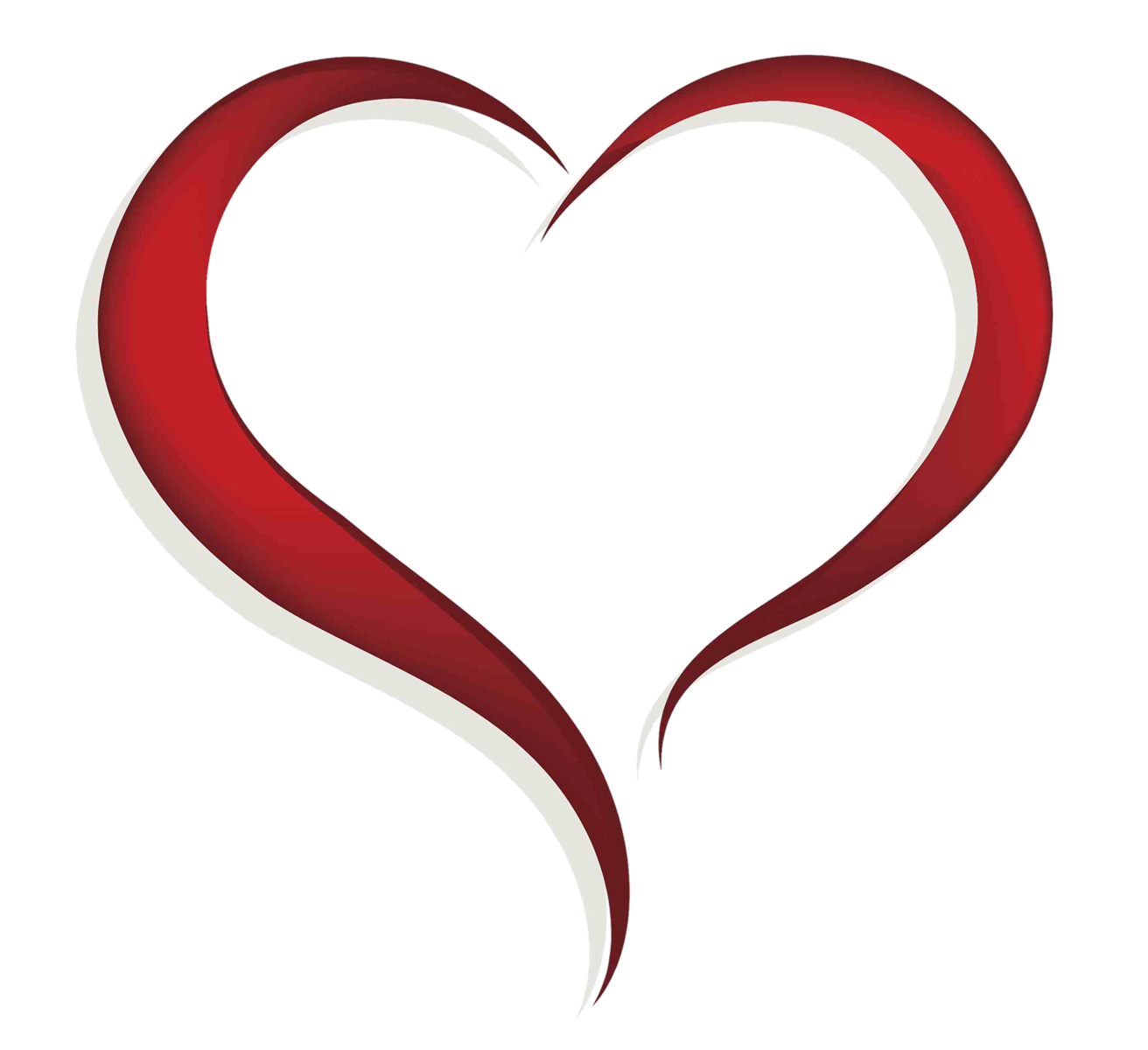 Hearts clipart human. Heart with transparent background